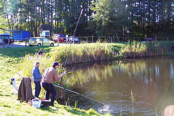 1. Mai 2019 Großes Anangeln im Teich